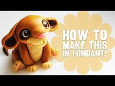 Learn how to make a cute Fondant Lion - Cake Decorating Modelling Tutorial - YouTube