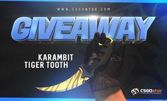 Karambit Tiger Tooth Giveaway