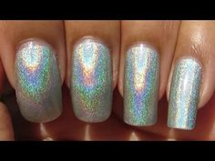 Layla Hologram Effect Jade Groove (Manicure May #4/Polish in Motion) - YouTube