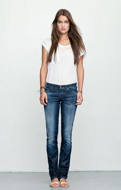 Citizens of Humanity Ava Straight Leg Jean Citizen Jeans, Denim And Diamonds, Simple Wardrobe, Citizens Of Humanity Jeans, Fashion Outfits, Womens Fashion, Fall Fashion, Fall Looks, Fashion Plates