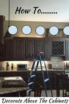 Kitchen Cabinet Decor Outdoor Appliances Packages Best Aishalcyon Org Ideas For Decorating The Top Advice Tips And Examples On How To Decorate Above Cabinets Decorateabovecabinets Kitchencabinets