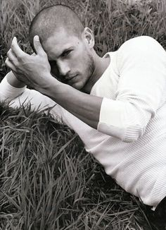 Wentworth Miller. Oh how I miss the Prison Break days.