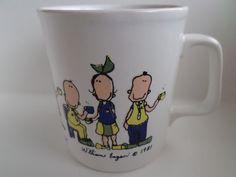 The Coffee Break Coffee Mug William Eagan 1981 Made in England