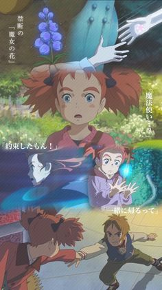 mary and witch's flower 2017