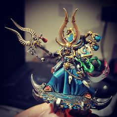 Ahriman from Thousand Sons (not quite finished!).