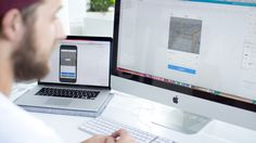 behind the screen | ui & ux | create app | interface design | imac | macbook | office | apple | appcom