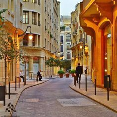 The beautiful streets of #Beirut By Omar Ashi #Lebanon #WeAreLebanon