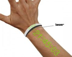 look like In Time Movie - Laser projector