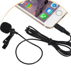 Microphone for mobile phone xiaomi iphone singing for loudspeaker for sony camera recorder MK01 #Affiliate