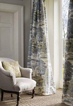 Fabric Lewis&Wood; Royal Oak - spring  LW