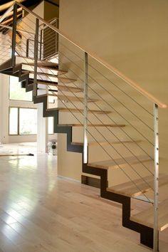 modern stair case