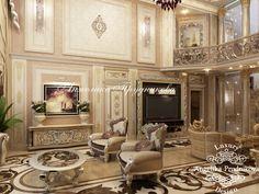 Лестница и зал - Дизайн коттеджей