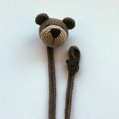 orsetto fermaciuccio a uncinetto spiegazioni Crochet Bookmarks, Crochet Patterns, Knitting, Handmade, Jewelry, Zoo, Hobby, Instagram, Feltro