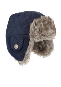 F&F Quilted Trapper Hat £5 at Tesco