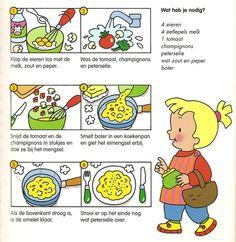 Koken met kleuters! | omelet