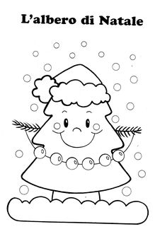 Blog scuola, Schede didattiche scuola dell'infanzia, La maestra Linda, Schede didattiche da scaricare, Christmas Activities For Kids, Christmas Crafts, Bobbin Lace Patterns, Christmas Pictures, Primary School, Xmas Tree, Coloring Pages, Religion, Snoopy