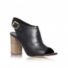 asset black high heel peep toe shoes from Carvela Kurt Geiger