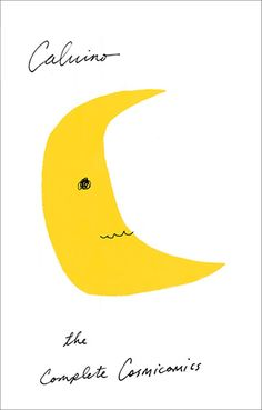 The Complete Cosmicomics by Italo Calvino. Cover by Peter Mendelsund.