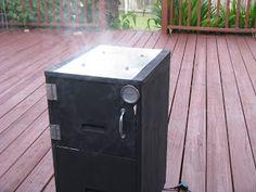 Filing Cabinet Smoker   Filing cabinet smoker