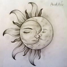 Sun And Moon Tattoo Designs #tattoo #tattoo patterns #tattoo design  http://tattoo-design.lemoncoin.org