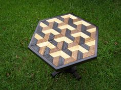 Re-purposed fence boards table