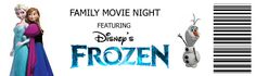 One week from tomorrow if you've bought the Frozen digital copy , you will be able to have a family movie night featuring Frozen! Frozen Movie, Disney Frozen, Frozen Party, Frozen Birthday, Disney Family Movies, Family Movie Night, Frozen In Summer, Walt Disney, School Leadership