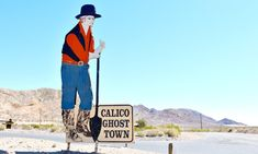 Camp At Calico Ghost Town In Yermo California Old West
