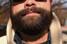 after combing a beard