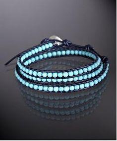 Chan Luu Inspired Beaded Wrap Bracelet DIY