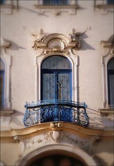 Miskolc, Hungary, detail Heart Of Europe, Terraces, Gaudi, Balconies, Facades, Homeland, Budapest, Art Nouveau, Artworks