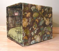 Buying enough fabric for this would break the bank:) Maybe I should get a smaller crate. Love the idea.