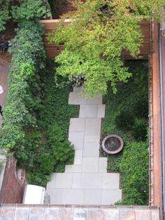 Beacon Hill, Courtyard Garden