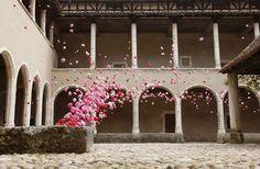 L'amour, la mort, la vie! est présentée du 20 juin 2014 au 5 janvier 2016 au monastère royal de Brou par la Ville de Bourg-en-Bresse et le Centre des monuments nationaux.