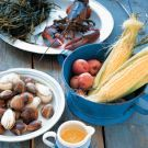Stovetop Clambake Recipe from williams-sonoma.com We made this last ...