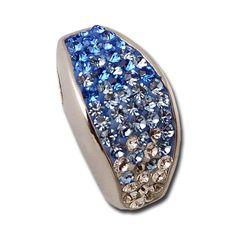Exxotic Jewelz Charming Loops Pendant - Blue