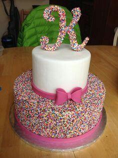 Creative Photo of Pretty Birthday Cakes . Pretty Birthday Cakes Beautiful Birthday Cake Love It For Z Justice Bday Pinte Beautiful Birthday Cakes, Beautiful Cakes, Amazing Cakes, Beautiful Beautiful, Pretty Cakes, Cute Cakes, Cake Cookies, Cupcake Cakes, Baby Cakes