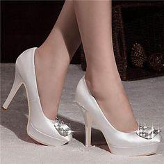 Női - Magassarkú / Platform / Csukott orrú - Esküvői cipő