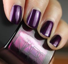 purple nars nails