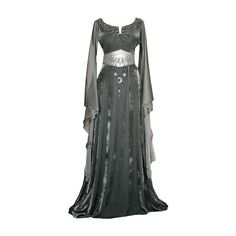 Medieval Dress ❤ liked on Polyvore featuring dresses, gowns, medieval and costumes