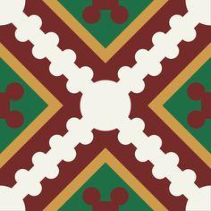 ODYSSEAS 417 Handmade Tiles, Pattern, Cement, Tiles, Model, Patterns