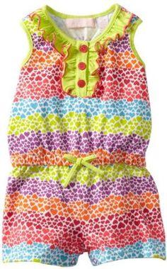 Kids Headquarters Baby-Girls Infant Romper, Yellow/Orange, 12 Months Kids Headquarters. $7.99