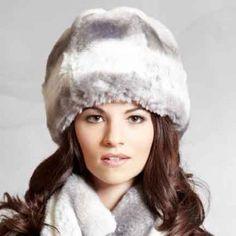 57dfc0d6cc21a7 Chinchilla Cloche - Cruelty-free faux fur #fauxfur #hat #cloche #fashion
