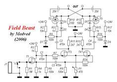 Усилитель на полевых транзисторах своими руками