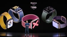 Apple, the iPhone event today, not only introduced iPhones. Technology giant Apple, the best-selling device in the smart watch industry Apple Watch said. Apple Watch Series 5 has been introduced with new features. Smart Watch Apple, New Apple Watch, Apple Watch Series 3, Apple Watch Bands, Apple Smartwatch, Iphone Event, Most Popular Watches, Hardware, Retina Display