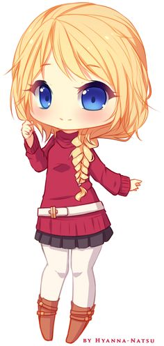 Commission - Erika Sketch Chibi 1 by Hyanna-Natsu on DeviantArt Oh.my.fucking.god! Sooo cute! I'm in love with is artist!