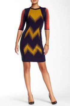 M Missoni Textured Patterned Dress