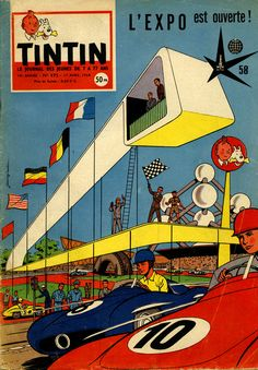 Tintin à L'Expo !