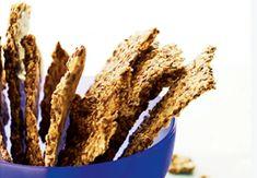 Pellavansiemennäkkileipä | Kuntoplus.fi Bread Bun, Dukan Diet, Swedish Recipes, Bread And Pastries, Snack Bar, Low Fodmap, Keto, Lchf, Chips