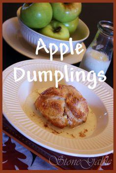 Lancaster County Apple Dumplings