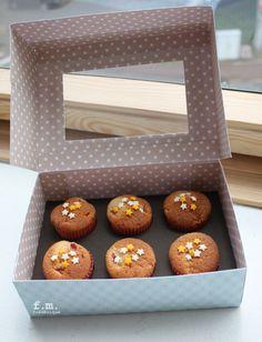 Tutoriel Boîte à cupcakes () - Femme2decoTV
